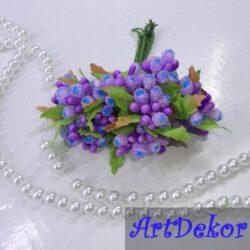 """Додаток """"Осенний"""" фиолетово-синий"""