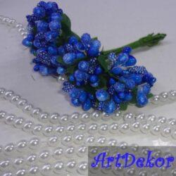 Додаток-незабудка синего цвета