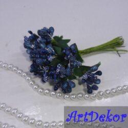 Додаток-незабудка темно-синего цвета