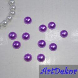 Полубусина 0.8 фиолет