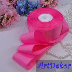 Репс 4 см ярко розовая