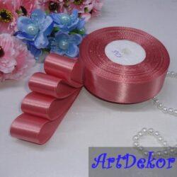 Лента атласная 2.5 см по оптовым ценам, для рукоделия, канзаши, бантиков, заколок, резинок, топиарий, скраббукинга