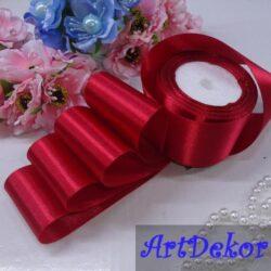 Лента атласная 4 см оптом и в розницу. Для изготовления бантиков, обручей, заколок в стиле канзаши, используется для скраббукинга