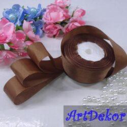 Лента репсовая 2.5 см оптом и в розницу. Для изготовления бантиков, обручей, заколок в стиле канзаши, используется для скраббукинга