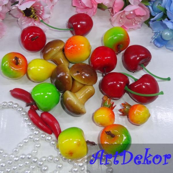 Декоративные фрукты и ягоды