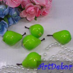 Груши декоративные зеленые
