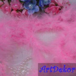 Пух розовый