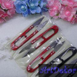 Ниткообрезатель цветной, железный усиленый(две заклепки), длина 10,5 см., нож 3,3 см.