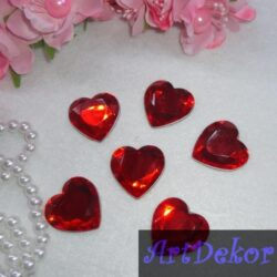 Серце камень 2.5 см