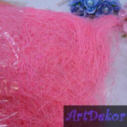 Сизаль розового цвета