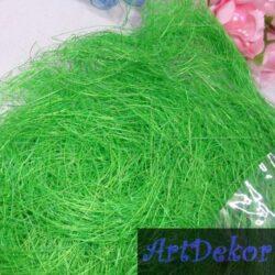 Сизаль зеленого цвета