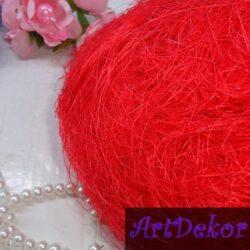 Сизаль красного цвета