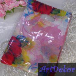Пакет «Роза » 15x19 см