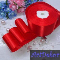 5 см атлас красная