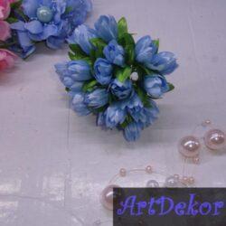 Букет тюльпанов светло голубой