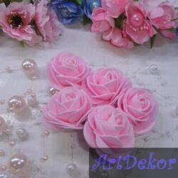 Роза 4-4.5 см розовый цвет