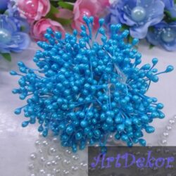 Тычинки голубого цвета