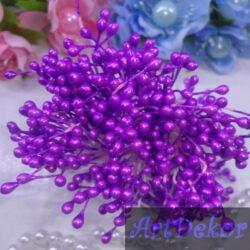 Тычинки фиолетового цвета