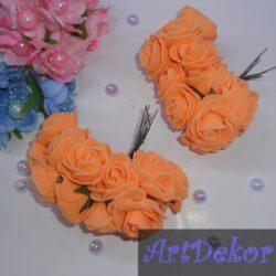 Роза из фоамирана 2.8-3 см