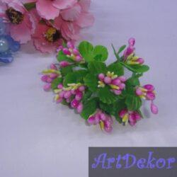 Додаток незабудка два цвета с круглыми листиками розово-желтый