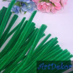 Синельная палочка зеленого цвета