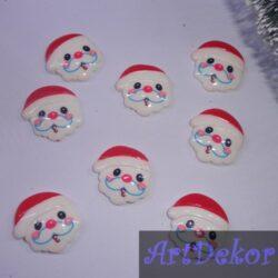 Серединка Дед Мороз с бородой