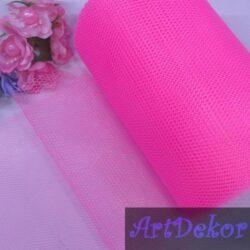 Фатин розовый, 13 см