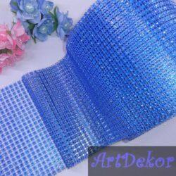 Шина декоративная, голубая