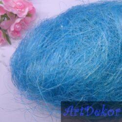 Сизаль голубого цвета