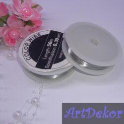 Проволка серебро , 0.3 мм
