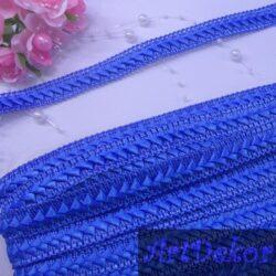 Тесьма самоса темно голубой, 2 см