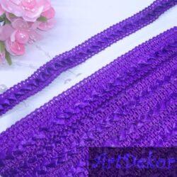 Тесьма самоса фиолет, 2 см