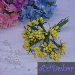 Додаток незабудка «Елочка» желтый