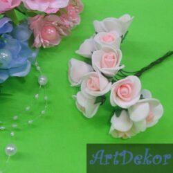 Роза 1.5 см из фоамирана