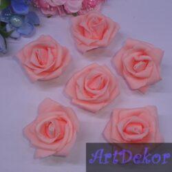 Роза из фоамирана 5 см