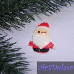 Серединка Дед Мороз 3х3.5 см