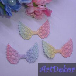Крылышки ангелочка 5х3.5 см, амбре (н)