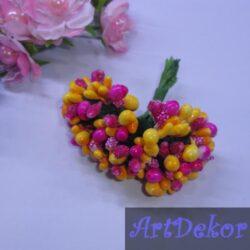 Додато — незабудка микс малина+розовый