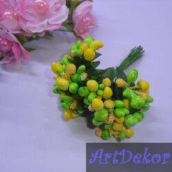 Додато — незабудка микс салат+желтый