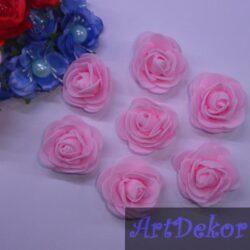 Роза из фоамирана 4 см
