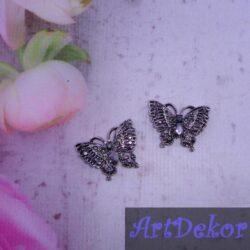 Бабочки в стразах