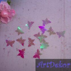 Пайетки Бабочки