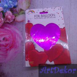 Воздушный шар сердце (45см)